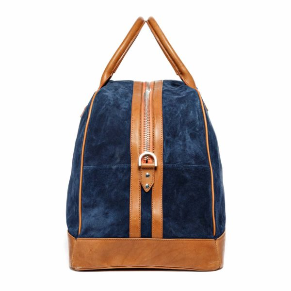Travel bag Monaco Velours Bleu Marine