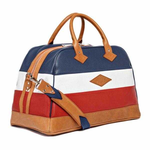 Travel bag Monaco Bleu Marine Blanc Rouge
