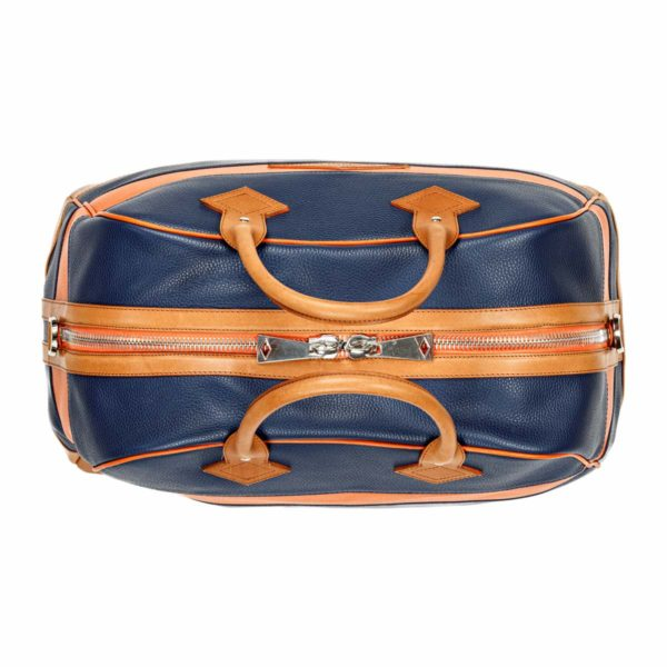 Travel bag Monaco Bleu Marine Blanc Rouge